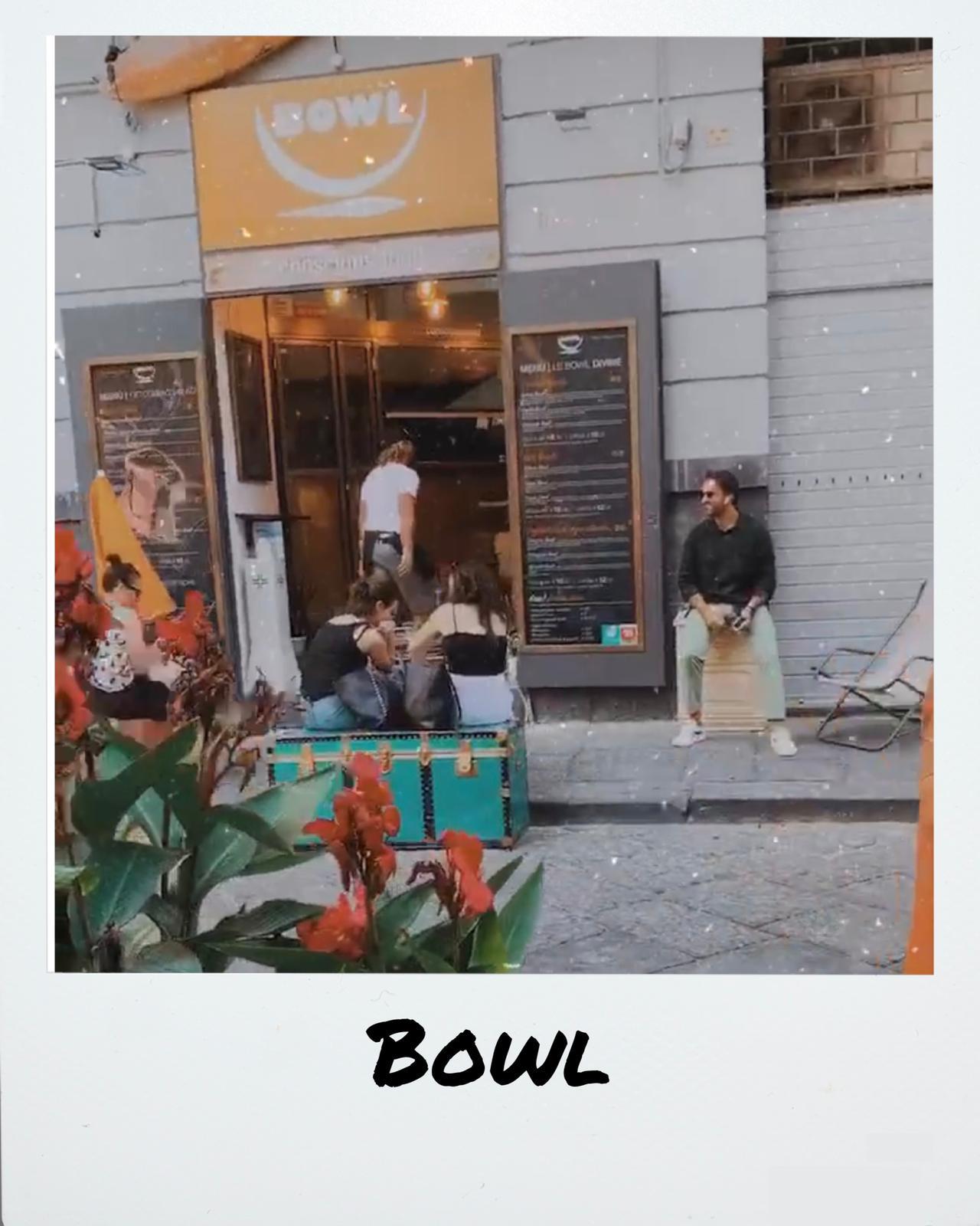 Bowl Napoli via Salvatore de Renzi